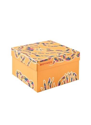 Boyner Evde 19 X 12 X 19 Cm El Çiçek Özel Tam Hediye Kutusu Renksiz